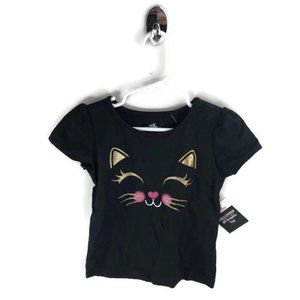 Other - Cat Sparkly Face T-Shirt Size 2T